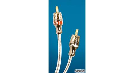 StreetWires Zero Noise 6 Stereo Patch Cable