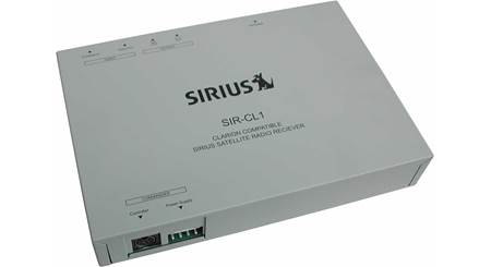 SIRIUS SIR-CL1 Satellite Radio Tuner