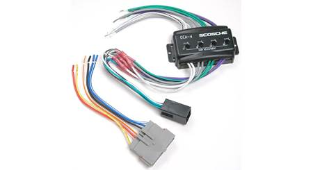 Scosche C4FDK5 Wiring Interface