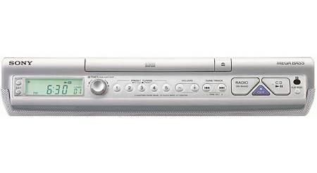 Sony Icf Cdk50 Kitchen Cd Player Clock Radio At Crutchfield