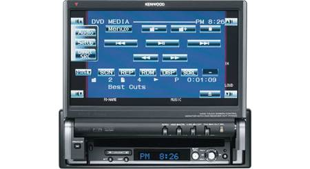 Kenwood KVT-617DVD In-dash DVD player with 7