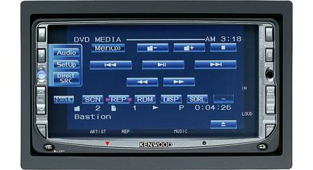 Kenwood DDX6019 In-dash DVD player with 6.95