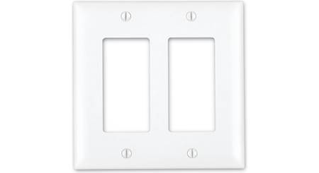 On-Q Decorator Wall Plate (White, Decora-style)
