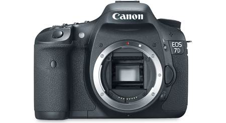 Canon EOS 7D (no lens included)