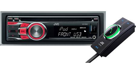 JVC CD Receiver / Bluetooth® Adapter Package