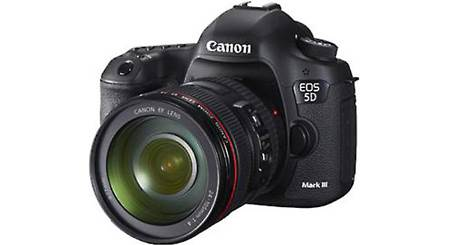 Canon EOS 5D Mark III with L-Series Zoom Lens