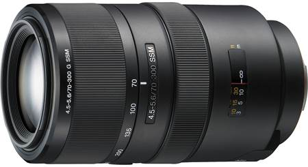 Sony SAL-70300G 70-300mm f/4.5-5.6 Lens