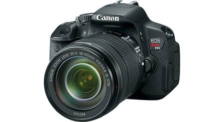 Canon EOS Rebel T4i Kit with 18-135mm Lens