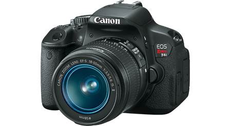Canon EOS Rebel T4i Kit with 18-55mm Lens