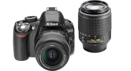 Nikon D3100 Kit with Standard Zoom and Telephoto Zoom Lenses