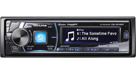 Alpine CDE-HD149BT CD receiver at Crutchfield