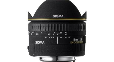 Sigma Photo 15mm f/2.8 Fisheye Lens