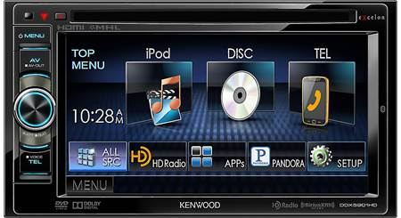 Kenwood Excelon DDX5901HD