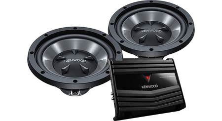 Kenwood P-W1220 Bass Package