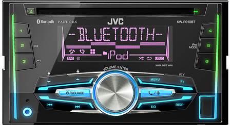 JVC KW-R910BT CD receiver at Crutchfield