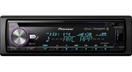 Pioneer DEH-X8800BHS CD receiver at Crutchfield