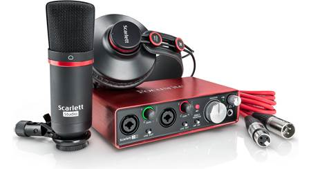 Focusrite Scarlett 2i2 Studio (Second Generation)