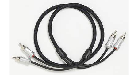 Crutchfield Reference 2-Channel RCA Patch Cables