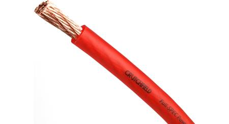 Crutchfield Red Power Wire