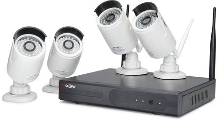 Spyclops SPY-NVR4720W Wireless Camera System