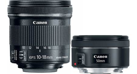 Canon Portrait & Travel Two Lens Kit