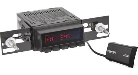 RetroSound Laguna (Black buttons) AM/FM receiver with aux input for