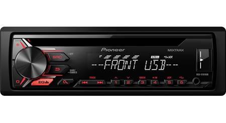 Pioneer DEH-X1900UB CD receiver at CrutchfieldCrutchfield