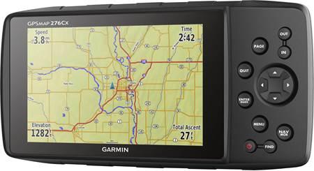 Garmin GPSMAP 276Cx Waterproof all-terrain portable GPS navigator at
