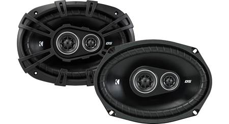 """Kicker DSC6930 6/"""" x 9/"""" 360W DS Series 3-Way Coaxial Car Stereo Speakers"""