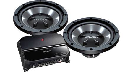 Kenwood P-W1021 170-Watt Bass Package