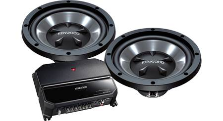 Kenwood P-W1221 170-watt Bass Package