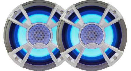 clarion cmq1622rl 6 1 2 marine speakers with built in led. Black Bedroom Furniture Sets. Home Design Ideas