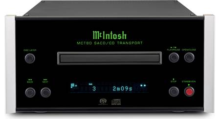 McIntosh MCT80 Stereo SACD/CD transport (no DAC onboard) at