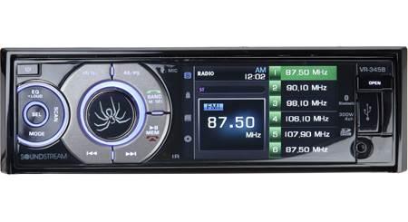 Soundstream VR-345B DVD receiver at Crutchfield
