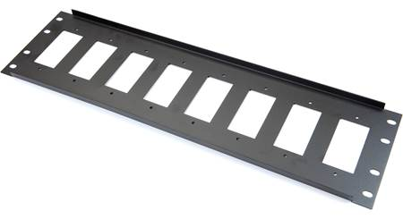 Metra Ethereal 3U Decora™ 8-Port Rack Panel