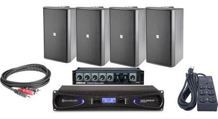 JBL Pro Gym Sound System Bundle