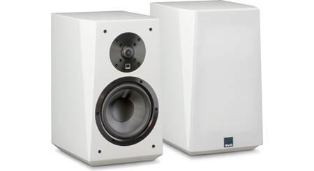 KEF LS50 (High Gloss Piano White) Bookshelf speakers at