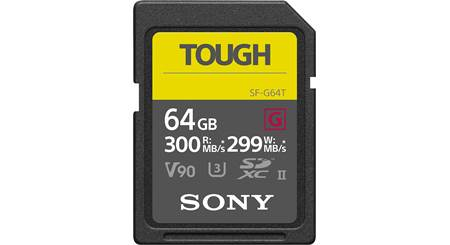 Sony SF-G Series Tough SDXC Memory Card
