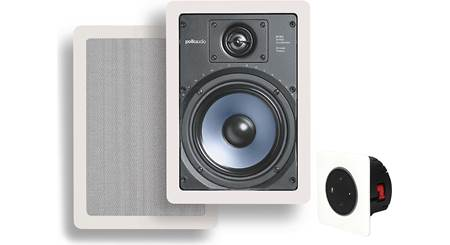 Vail Amp and In-Wall Speaker Package