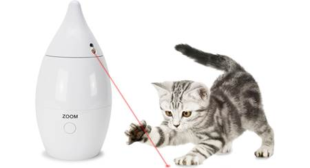 PetSafe Zoom Rotating Laser Cat Toy