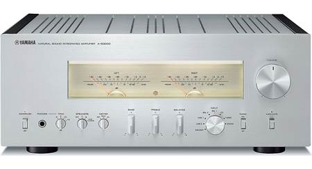 Yamaha A-S1100 (Silver) Stereo integrated amplifier at