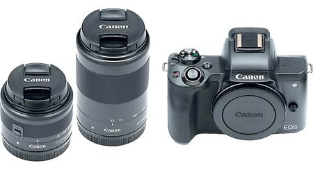 Canon EOS M50 Two Lens Kit
