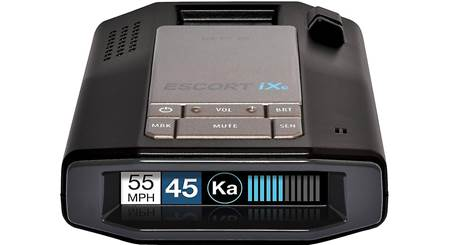 Escort RedLine EX Radar detector with Bluetooth®, GPS, and preloaded