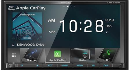 Kenwood DMX7706S Digital multimedia receiver (does not play CDs) at