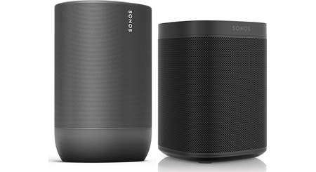Sonos Move and Sonos One SL