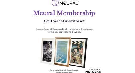 NETGEAR Meural Annual Membership