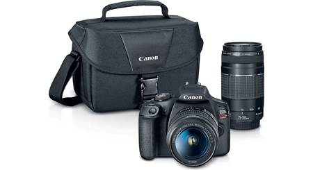 Canon EOS Rebel T7 Two Zoom Lens Kit