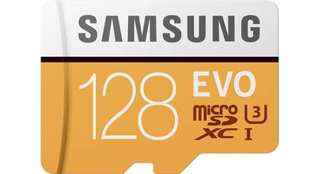 Samsung EVO microSDXC Memory Card