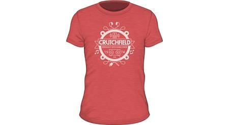 Red Crutchfield Camp Shirt
