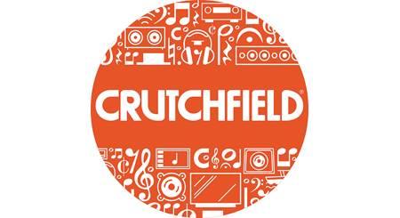 Crutchfield Circle Logo Sticker